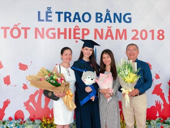 Á hậu Thùy Dung rạng rỡ trong ngày tốt nghiệp sau khi kết thúc nhiệm kỳ tại Hoa hậu Việt Nam - Ảnh 2.