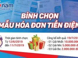 bình chọn mẫu hóa đơn tiền điện mới - phongcachdoisong.vn - kkdvietnam