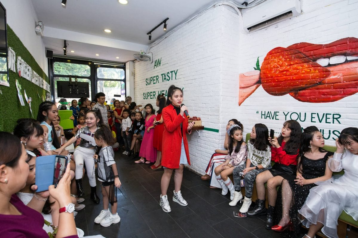 Vy Collen Casting Model Kids cho VFadé Fashion Show 2019