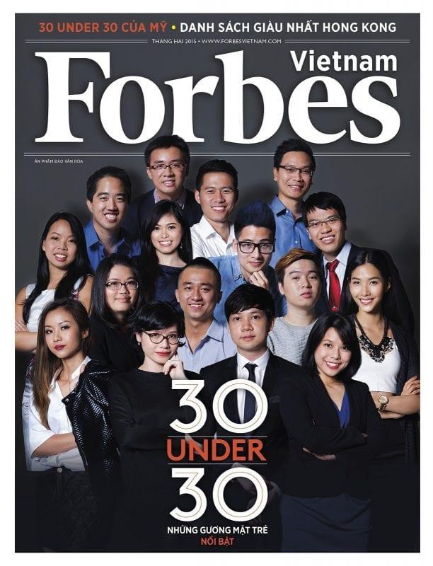 danh sách 30 Under 30