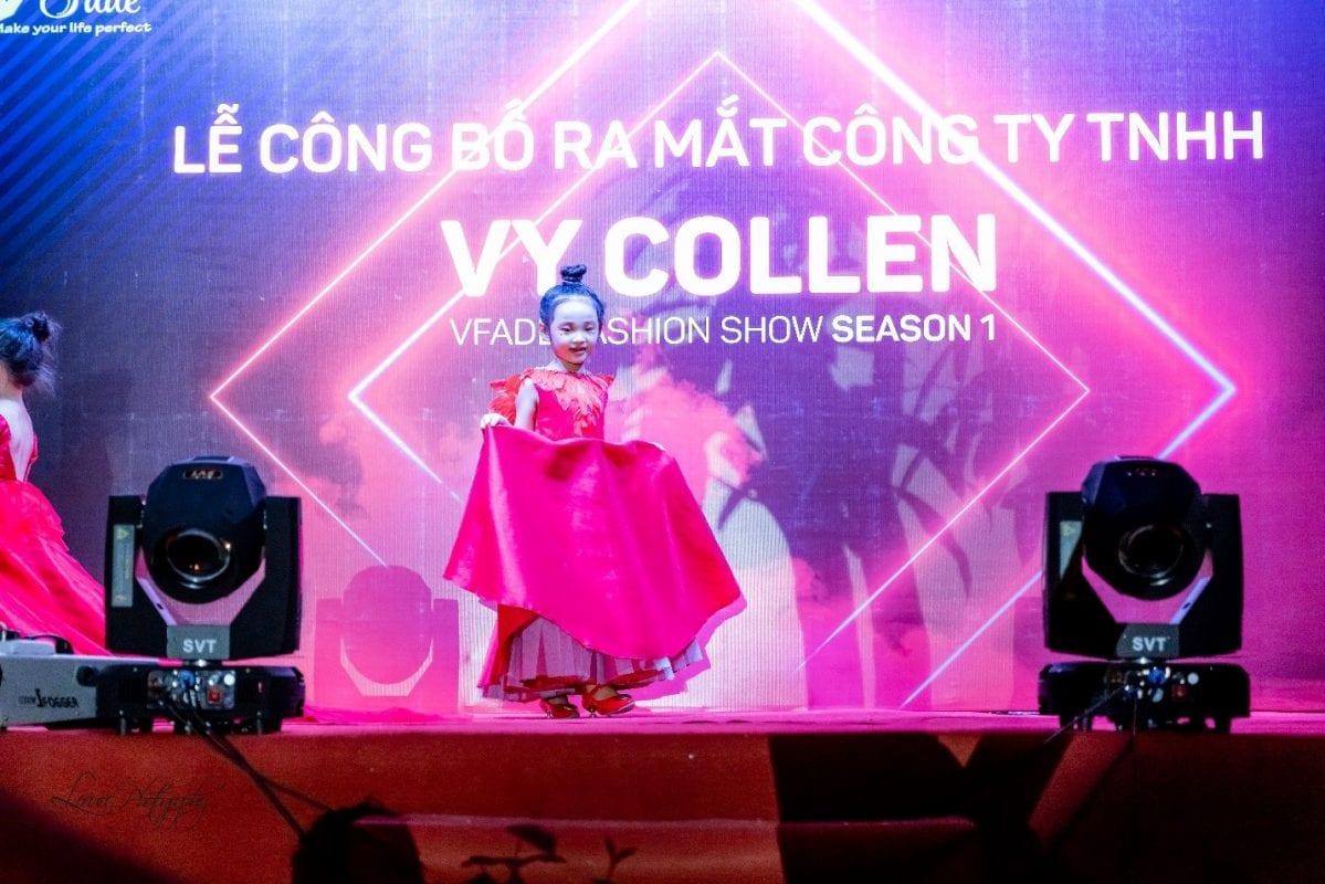 Nhà thiết kế Vy Collen: Khởi đầu nào cũng gian nan, quan trọng là mình tin vào chính mình. Vfadé Fashion Show